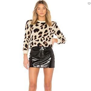 Lovers + Friends Speak Up Sweater (Cheetah)